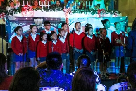 Coro de la Unidad Educativa José Salazar Mero.