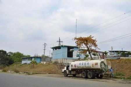 Potabilizadora de agua en La Estancilla, sirve a 5 cantones. Será repotenciada con financiamiento del BDE.