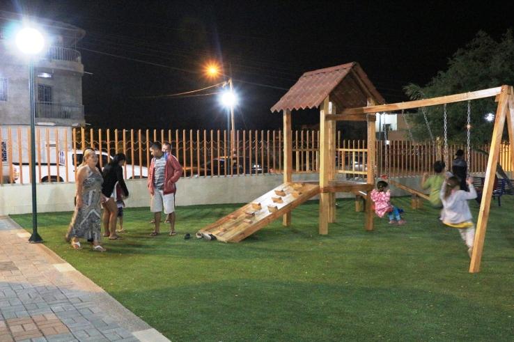 Así luce ahora el parque regenerado.