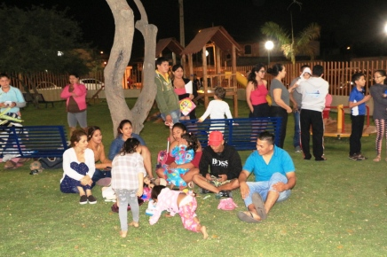 Vuelve la decencia al parque del BarrioCentenario
