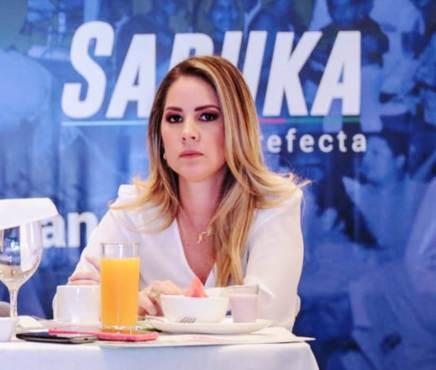 Saruka Rodríguez es la precandidata de Sí Podemos a viceprefecta deManabí