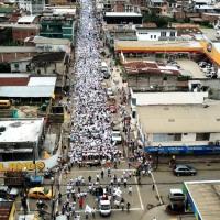 Raúl Andrade (hijo) demostró su poder de convocatoria en Chone