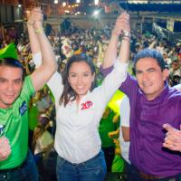 Candidatos de Democracia Sí para alcalde, en Bahía y Rocafuerte