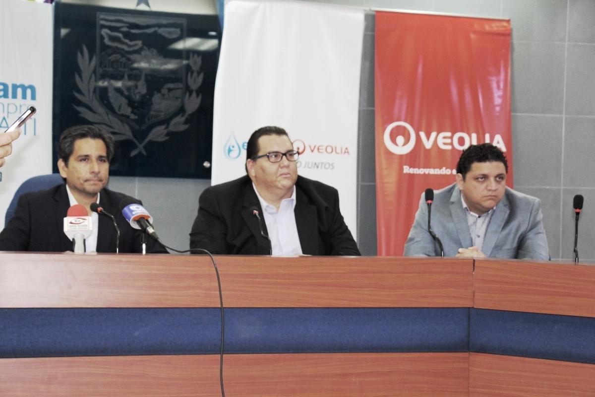 Epam-Veolia: Han mejorado mucho los servicios de agua potable y alcantarillado de Manta