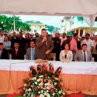 Las nuevas autoridades municipales del Cantón Bolívar