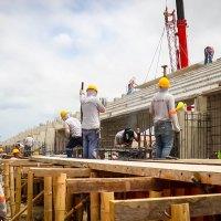Cómo se construye la nueva tribuna del Estadio Jocay