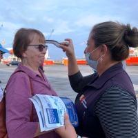 El coronavirus obliga chequear a tripulantes y turistas de naves que arriban a Manta