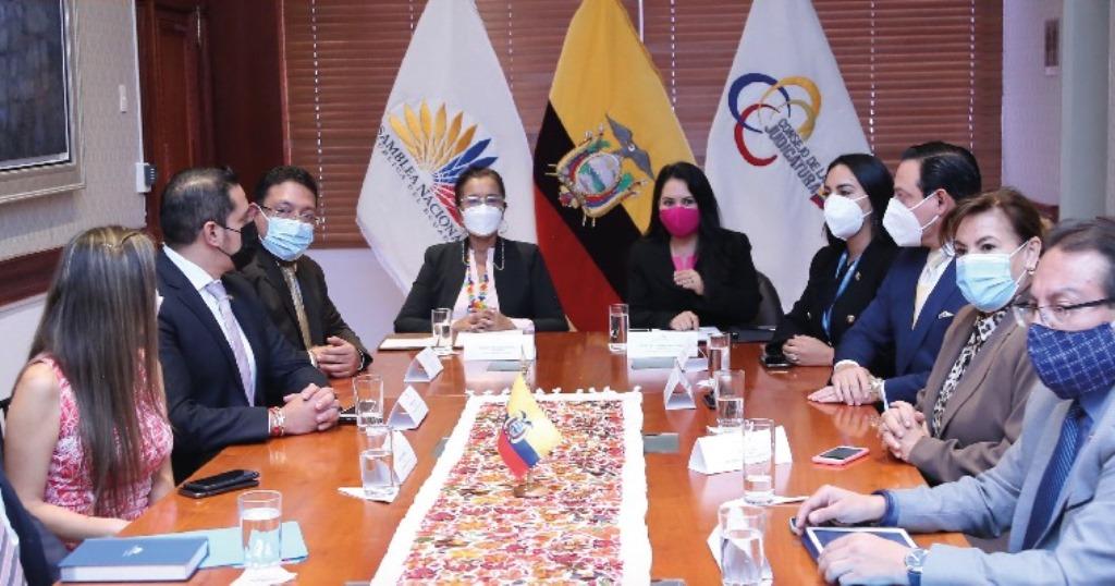 directivos asamblea legislativa - consejo judicatura, ecuador